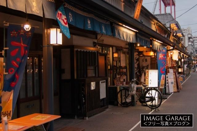 浅草・花やしき通りのフリー素材写真(無料)