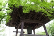 伊豆修善寺の修禅寺の鐘楼