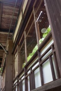 日本家屋の窓