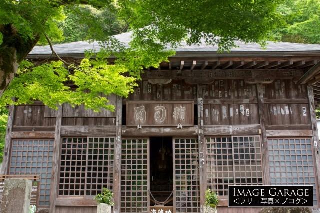 伊豆修善寺の指月殿のフリー素材写真(無料)