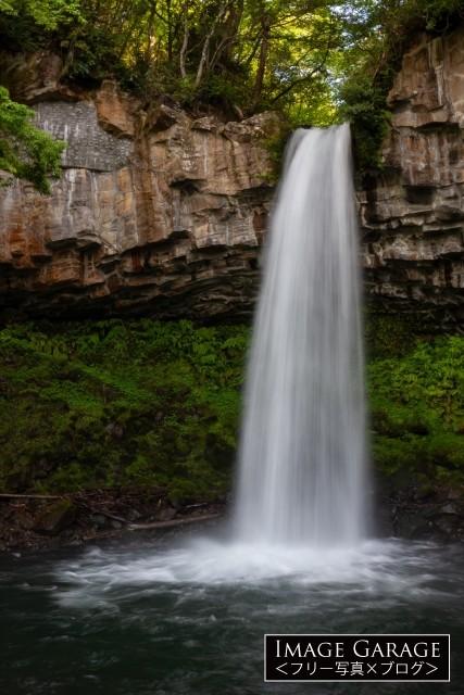 中伊豆の萬城の滝の無料写真