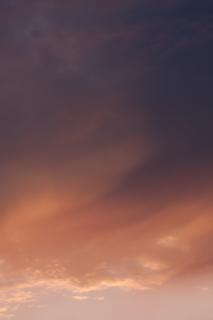 グラデーションが綺麗な夕焼け雲