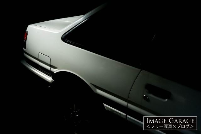 2ドアのAE86・カローラレビンのフリー写真素材(無料)
