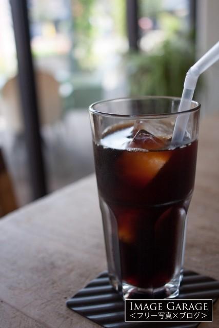 アイスコーヒーのフリー画像(無料写真素材)