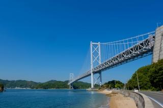 しまなみ海道2番目の因島大橋
