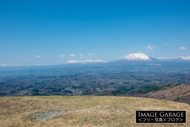 抜群の眺望が楽しめる天峰山・展望ポイントのフリー画像(無料写真素材)
