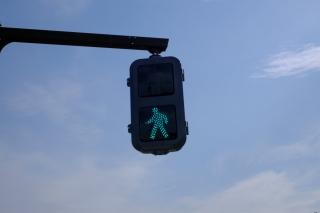 LED式の歩行者用信号機