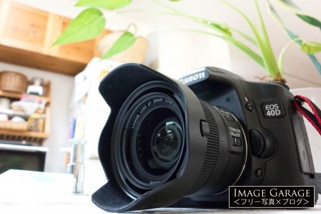 隠れ名機・キヤノン EOS 40Dのフリー写真素材