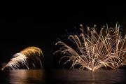 岩地海岸の花火大会(松崎町夏まつり)