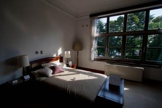 横浜山手・イギリス館2Fの寝室