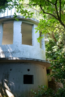 猿島の見張り台(展望台・観測所)