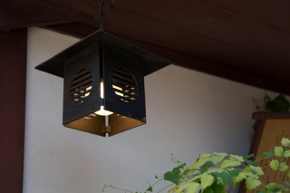 古民家の釣灯籠(吊り灯籠)(吊り下げ照明)