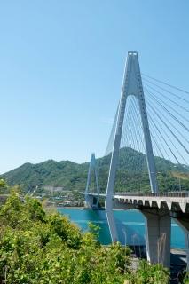 生口橋(しまなみ海道・斜張橋)