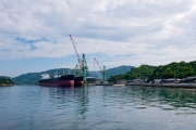 今治造船グループの一員、あいえす造船とばら積み運搬船