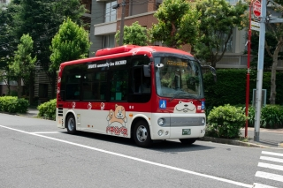 恵比寿を走る、2代目・ハチ公バス