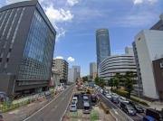 環状2号線・新横浜駅前の相鉄・東急直通線の工事