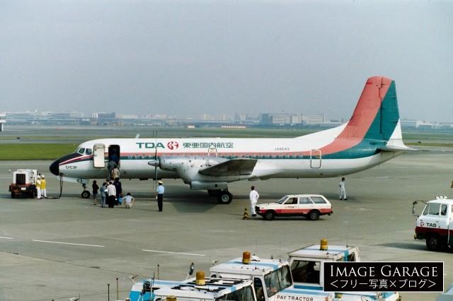 YS-11(東亜国内航空・ひだか)のフリー素材写真(無料)