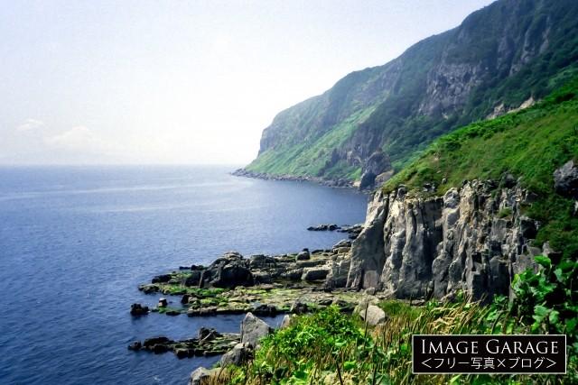 函館の絶景ポイント・立待岬のフリー素材写真(無料)