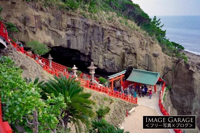 日本神話の舞台にもなった鵜戸神宮のフリー素材写真(無料)