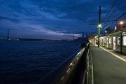 海に一番近い駅海芝浦駅