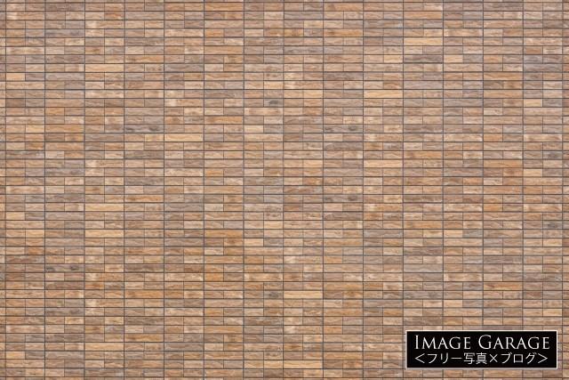 レンガタイルの壁のフリー写真素材(無料)