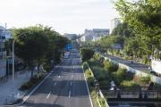 横浜市・環状2号線(磯子〜新横浜区間)永野小学校下
