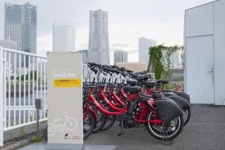 横浜コミュニティサイクル(シェアサイクル)のベイバイク