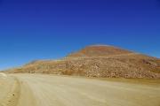 未舗装路時代のパイクスピーク標高4,301mへの道