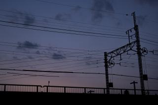 東急東横線・綱島〜大倉山間の鉄橋