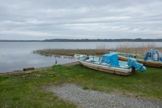 シジミ漁が盛んな小川原湖