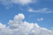 夏らしいもモクモクした雲