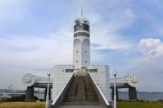 横浜らしい風景が見れる、横浜港シンボルタワー