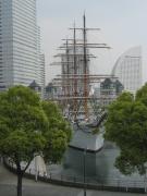 日本丸メモリアルパークの初代日本丸