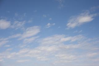 曇る前に見えた青空