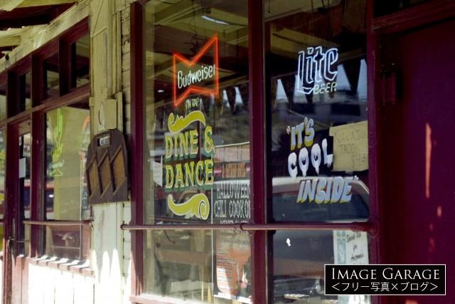 ルート66・オートマン ゴーストタウンにあったバーのフリー写真素材(無料)