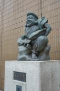 恵比寿駅のえびす像