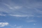 8月なのに爽やかな印象の青空