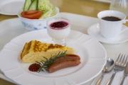 清里のペンションの朝食イメージ