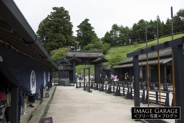 箱根関所のフリー写真素材(無料)