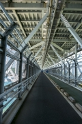 しまなみ海道・因島大橋の自転車道(歩道)