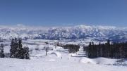 上越国際スキー場から眺める風景