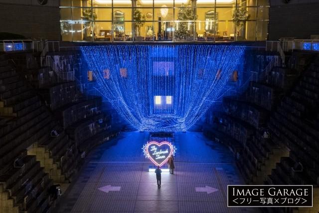 ドックヤードガーデン2020クリスマスイルミネーションのフリー写真素材