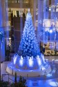 ランドマークタワー横浜のクリスマスツリー(青)