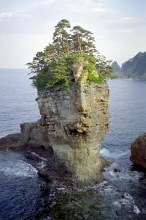 三陸復興国立公園・山王岩(男岩)