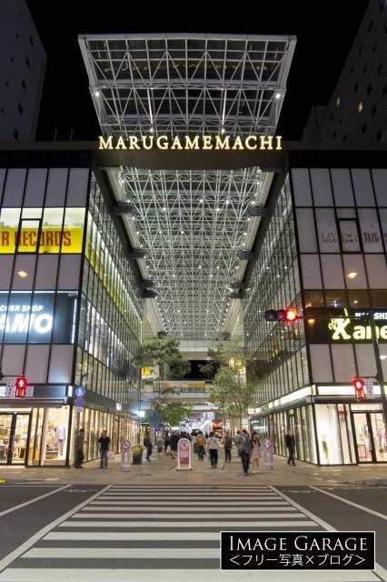 丸亀町グリーン・商店街のフリー画像(無料写真素材)