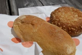 道の駅・三田貝分校の揚げパン