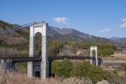 秦野戸川公園の風の吊り橋v