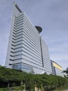 目黒川から見たアルコタワー