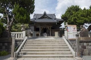 源頼朝によって創建された森戸神社
