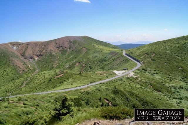志賀草津高原ルート(国道292)・渋峠付近のフリー写真素材(無料)